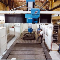 Rigidity and a High Level of Dynamism for Processing Machines for Large Workpieces
