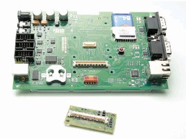 Microcontroller delivers sustained throughput of 83 MB/s.