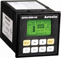 Keypad Based HMI with the Power of a PLC