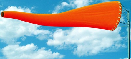 High-Visibility Windsock combines length and brightness.