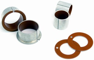 Cylindrical Bushings offer application flexibility.