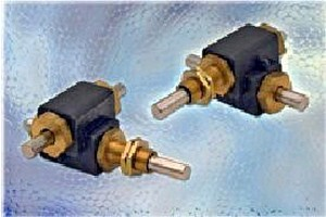 Right Angle Speed Reducers feature dual drive operation.