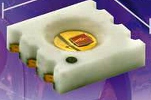 SMD LEDs feature CLCC-6 flat ceramic package.