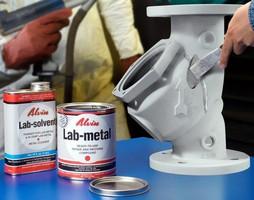 Metal Filler prepares parts for powder coating.