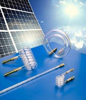 Solar Simulator Flashlamps test photovoltaic cells.