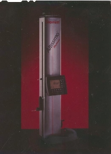 Electronic Height Gauge measures with 0.0003 in. accuracy.