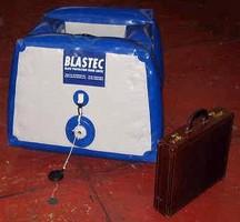 Blast Mitigation Tool features self-inflating design.