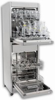 Vertical Glassware Washer has footprint-optimized design.