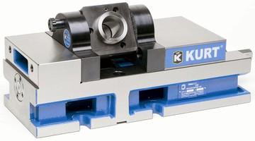 5C Holder allows machining of any custom angle.