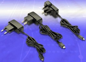 AC-DC Power Adapters feature Mini-USB output connectors.