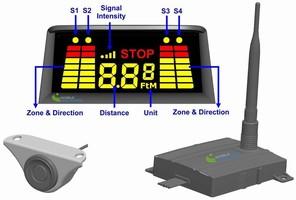 Wireless Sensor System prevents reversing vehicle accidents.
