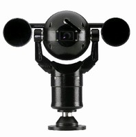 PTZ Camera features integrated infrared technology.