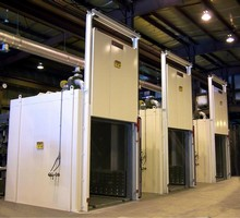 Batch Ovens Cure Coatings for Aerospace Industry