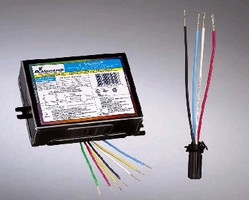 Electronic Ballasts suit 70 and 100 W metal halide lamps.