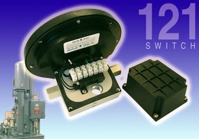 Differential Pressure Switch features heavy-duty design.