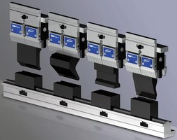 Staged Bending Tooling completes multiple bends in one setup.
