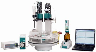 Automated System handles solid- to liquid-phase sample prep.