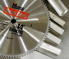 Circular Saw Blade is engineered to cut stainless steel.