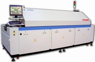 Lead-Free Reflow System delivers large-oven capability.