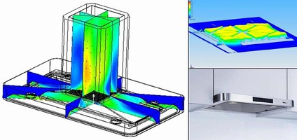 Fluid Simulation Reduces Extractor Hood Design Time