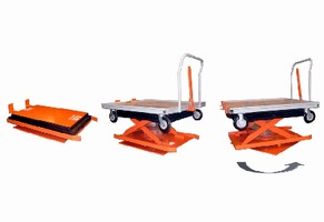 Cart Positioning Lift Systems target fork-free facilities.
