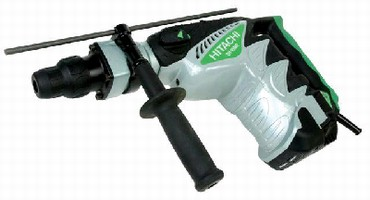Rotary Hammer features internal double insulation.