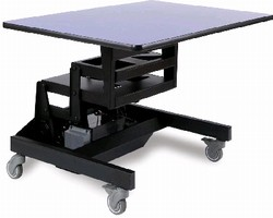 Height-Adjustable Workstations help minimize worker injury.