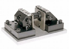 Vise facilitates 5-axis machining operations.