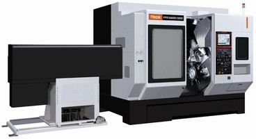 Multi-Tasking Machining Center delivers automated operation.