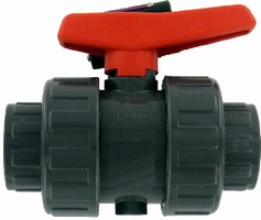 Ball Valves suit chemical and wastewater applications.