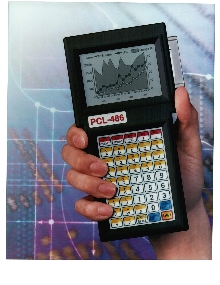 Hand-Held Computer provides real-time control.
