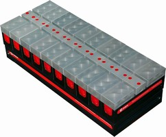 Modular Subplate is designed for small workpiece fixturing.