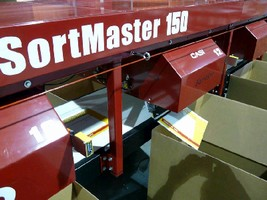 Electric Sorter handles mail, flats, and small parcels.