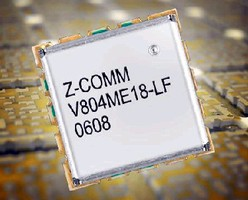Voltage Controlled Oscillator suits mobile communications.