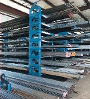 Stacking Cradle System Offers Immediate Access and Inventory Control of Long Goods, Coils, and Flat Stock