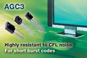 IR Receivers suit noisy environments and short burst codes.