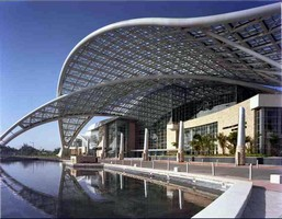 """Techno-Tropic"" Puerto Rico Convention Center's Signature Skylight Finished by Linetec"