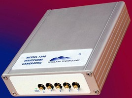 Multichannel Waveform Generator has built-in self-test.