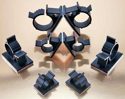 Cable Clamps accommodate various cable sizes and bundles.