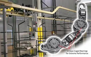 Conveyor Chain provides quiet operation.
