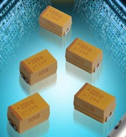 Tantalum Capacitor suits high power, low voltage converters.