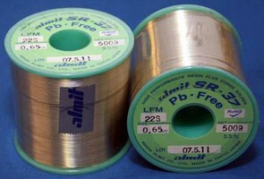 Cored Solder Wire is designed for Pb-free processes.