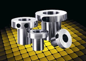 Shaft Locking Bushings minimize runout and vibration.