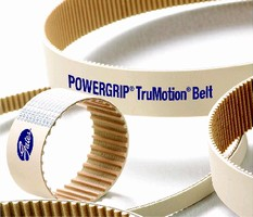 Non-Marking Drive Belt minimizes noise and dust.