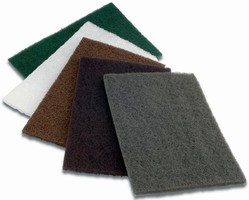 Non-Woven Hand Pads are used for surface preparation.