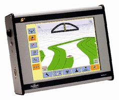Farming Guidance System includes 8.4 in. touch screen.