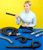 Stretchable Vacuum Cleaner Hose features seamless design.