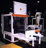 Grit Blasting Machine prepares surfaces consistently.