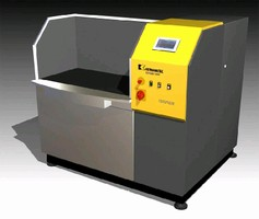 Deburring Machine performs 4 functions in one process.