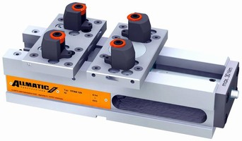 High-Pressure Vise offer variable jaw and gripper clamping.